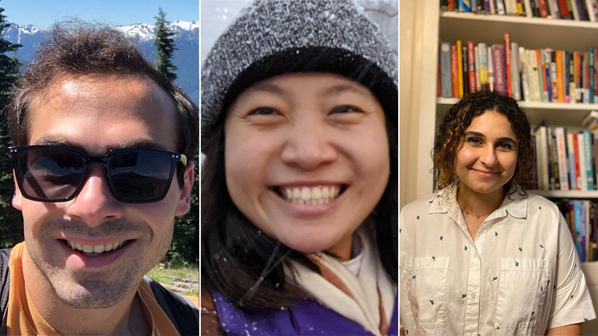 Dan Adler, Joy Ming, and Pegah Moradi were each awarded NSF Graduate Research Fellowships in 2021.