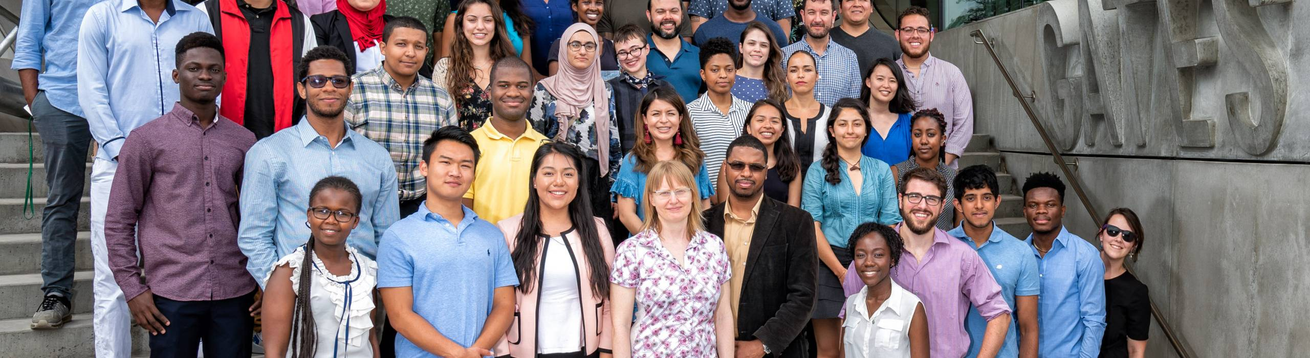 The 2018 cohort of students invited to Computing and Information Science's two summer research programs, SONiC and Designing Technology for Social Impact.