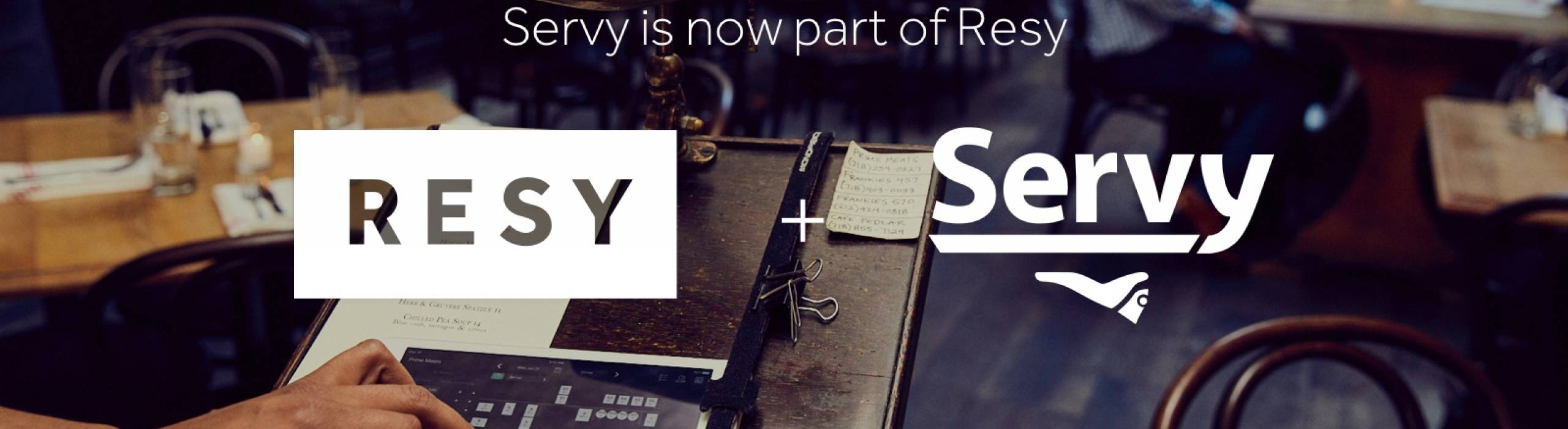 Servy is a start-up company founded by two Cornell alums.