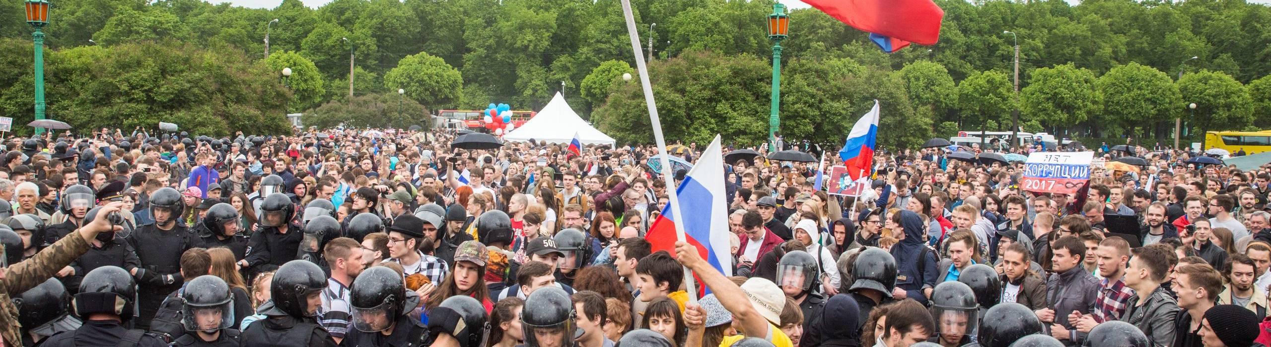 June 12 protest in St. Petersburg