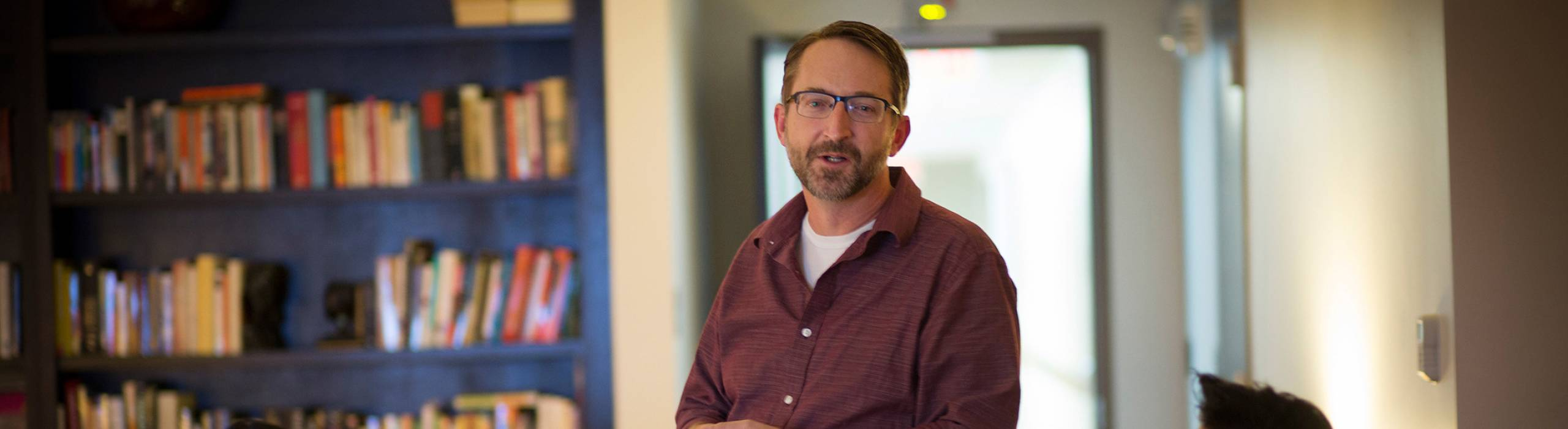 Information Science Associate Professor and Department Chair Steve Jackson