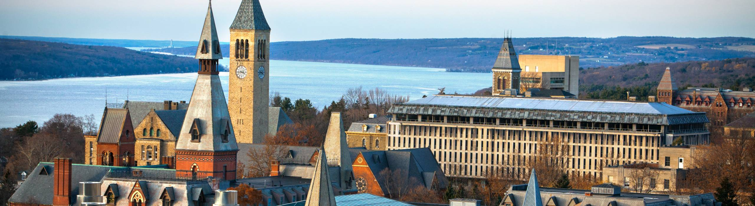 A view of the Cornell campus