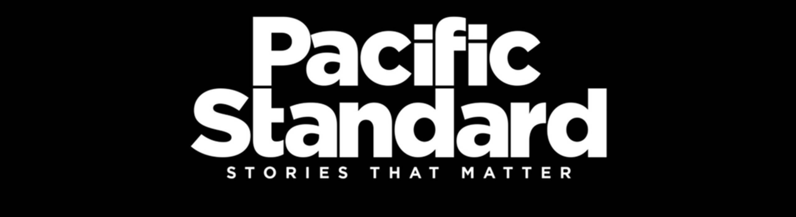 The Pacific Standard masthead