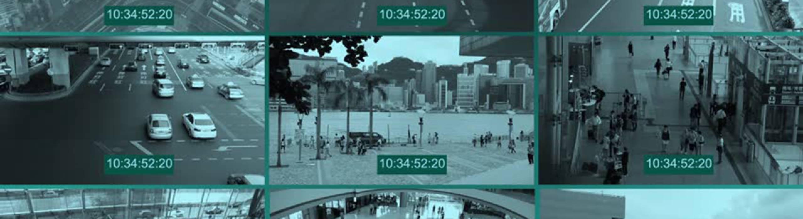 Surveillance Footage Banner