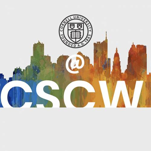 Cornell seal and CSCW logo