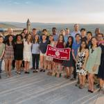 Info Sci graduating seniors at the annual Senior Send-off Dinner, held Wednesday, May 9, 2018 in the Physical Sciences building.