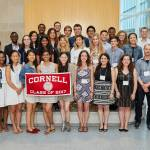 Graduating Info Sci seniors at the annual senior send-off dinner, held on Friday, May 19, 2017 in