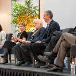 Panelists at the CIS@20 event