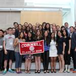 Students who attended the 2016 Information Science Senior Dinner Join together for a picture
