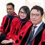 Info Sci PhDs during the 2017 Commencement.